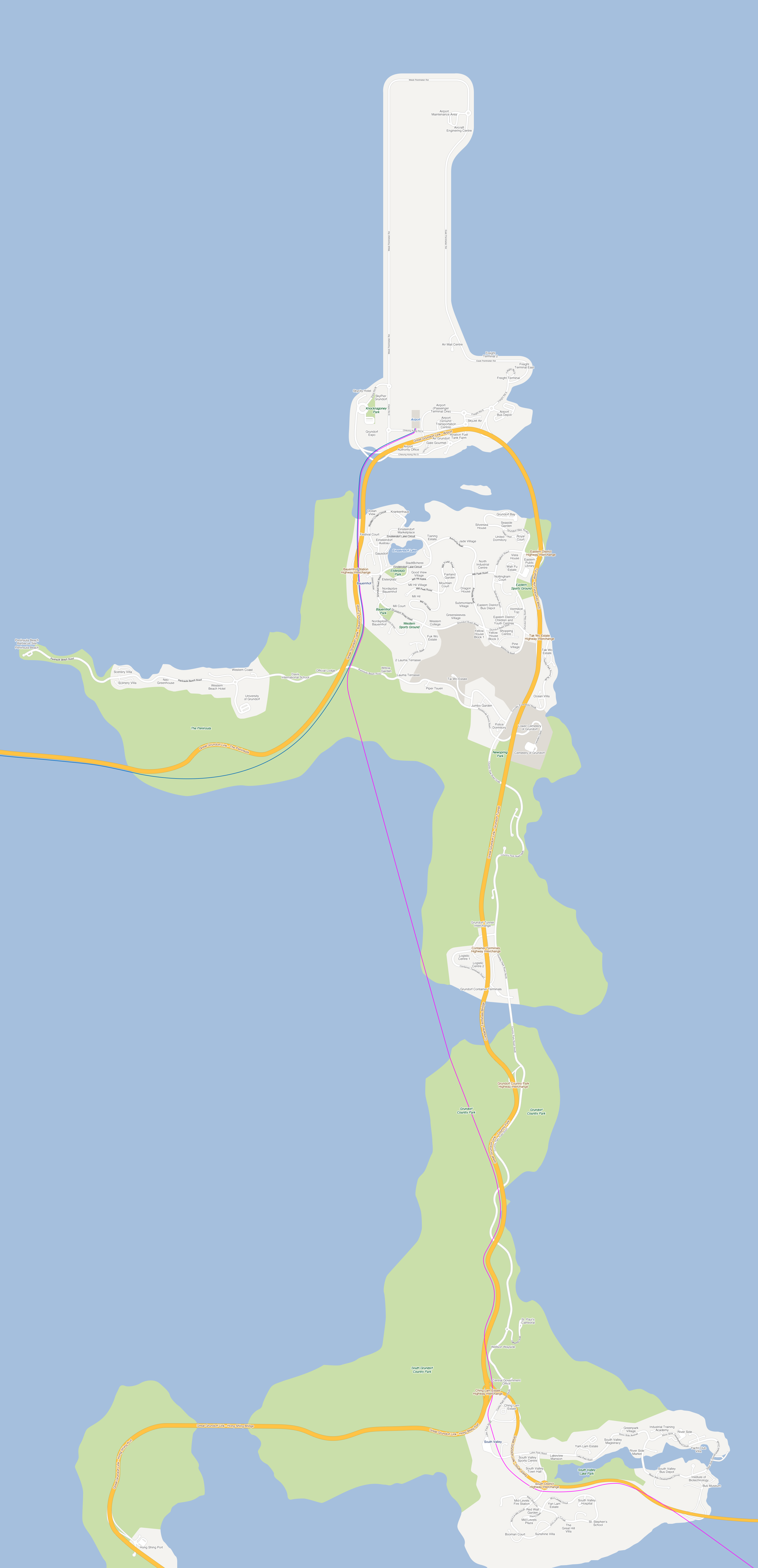 Download Map Of The City